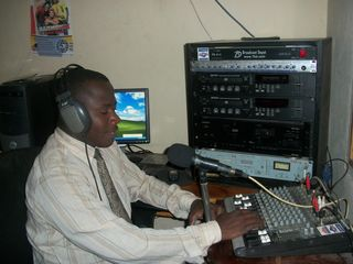 Archange at the radio station