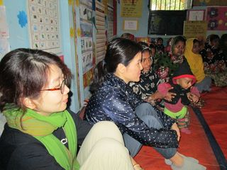 SCK CEO and International Program Director attended Parenting Session with the mothers of  Pre-Primary School Children in Meherpur