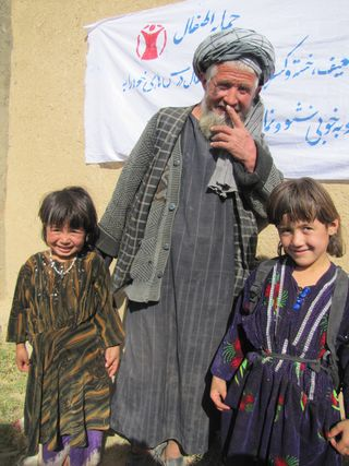 AfCO Sponsorship Blog Post 3 - Parent of a Child - Khal Mohammad with his grandchildren