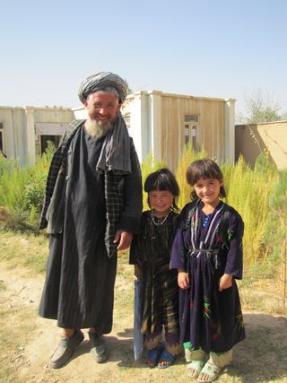 AfCO Sponsorship Blog Post 3 - Parent of a Child - Khal Mohammad With His Grandchildren 2