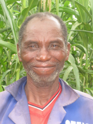 The kind face of João Ussene, community leader and president of the primary school council
