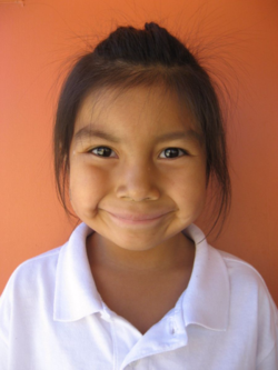 One of the many sponsored children in Arizona benefitting from our programs