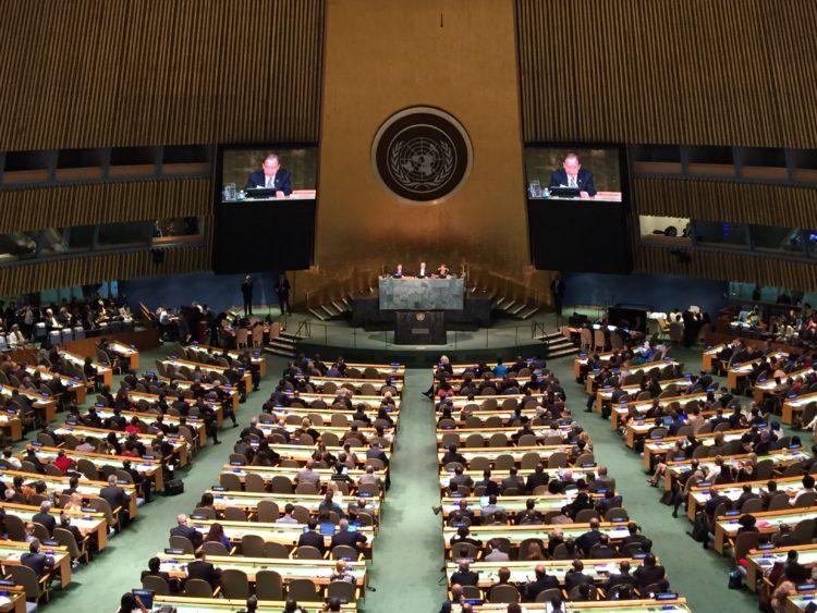UN General Assembly, June 8-10, 2016