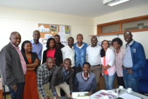 Members of Save the Children in Rwanda and Save the Children in Ethiopia