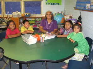 Gloria works with Sponsorship programs to help children develop a love of reading.