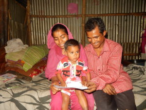 Later, Sufia and Sabbir show the letter to Sabbir's father