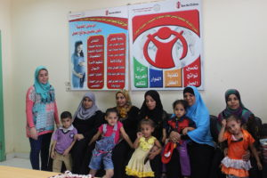 Samar with participants of one of her health sessions, and their children who will surely benefit!