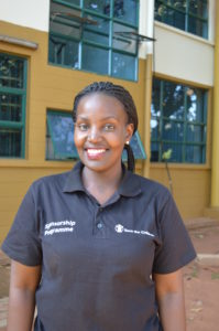 Author Portrait_Madrine Amuge, Senior Officer of School Health and Nutrition
