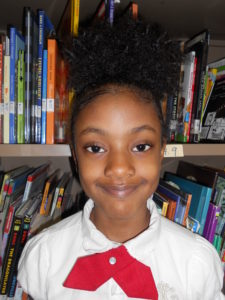 1st grade student Dayla is gaining confidence at school thanks to sponsorship.