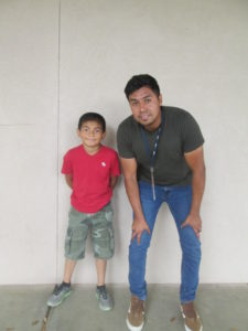 9-year-old Steven participates in sponsorship and afterschool programs in California.