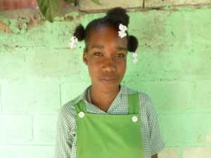 Thanks to sponsorship, Nahomie has learned how to keep herself safe as she grows into a woman.