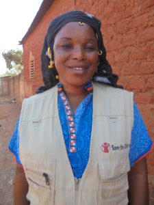 Author Portrait_Aminata Diarra, Community Development Agent of Kapala Community in Sikasso
