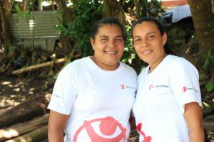 Author Portrait_Rosa Marroquín & Carolina Marroquín, Community Volunteers in Cuyagualo, Sonsonate