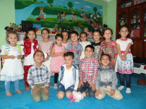 Early Learners benefiting from sponsorship in Faryab.