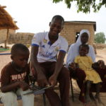 Thanks to support from Save the Children's child sponsors, Abdoulaye saw first-hand the value of an education and is now an educator himself.